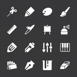 Creative Icons - White Series   EPS10