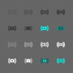Vibration Reduction Icon - Multi Series