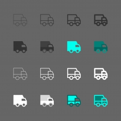 Truck Icon - Multi Series