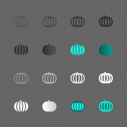 Pumpkin Icon - Multi Series