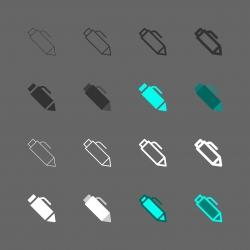Pen Icon - Multi Series