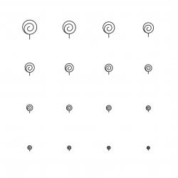 Smilingly Icons - Multi Scale Line Series