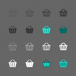 Basket Icons - Multi Series