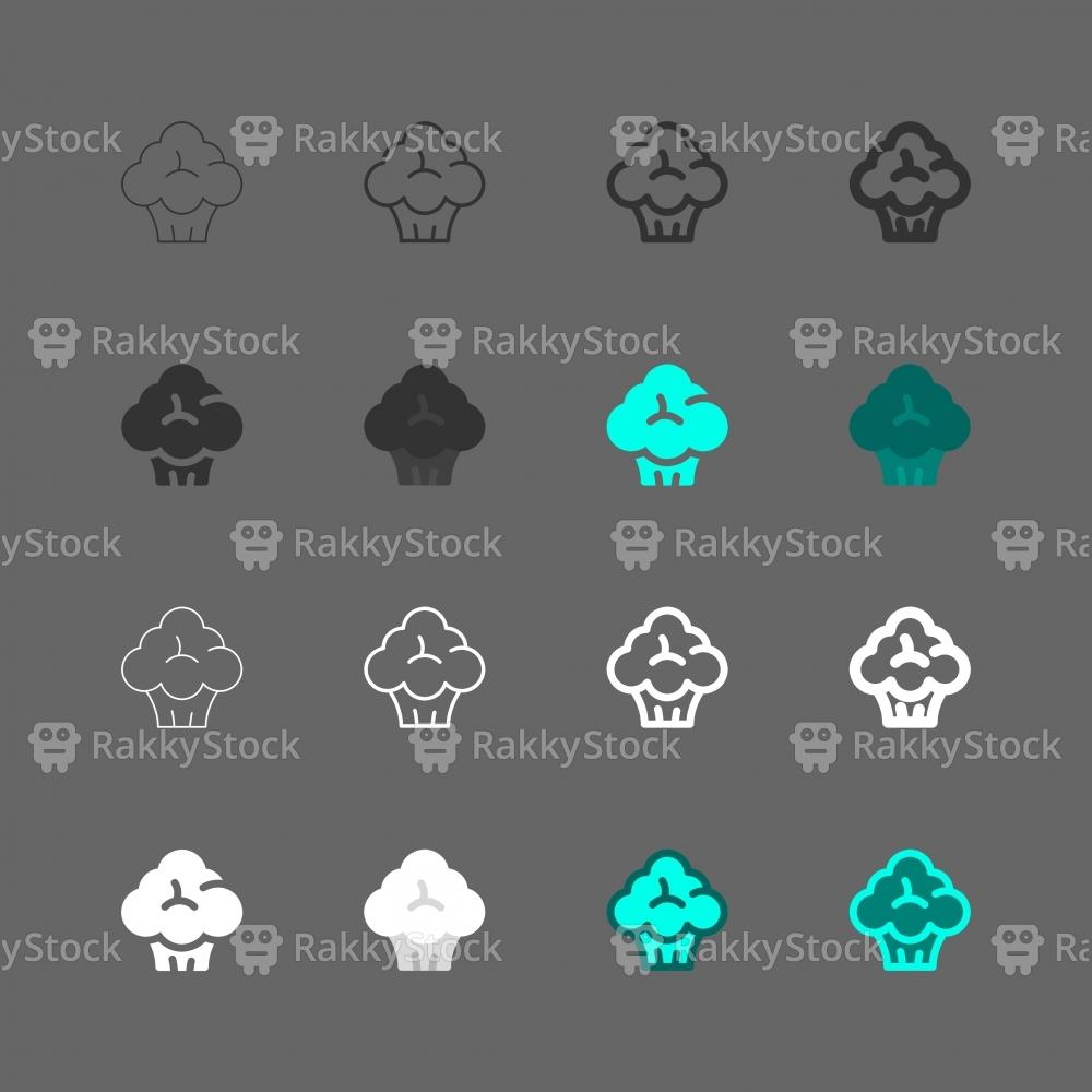Vegetable Icons - Multi Series