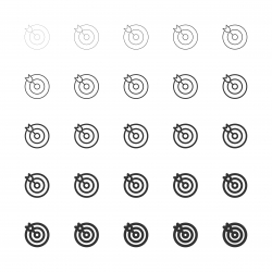 Target Icons - Multi Line Series