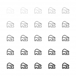 Cheese Icons - Multi Line Series