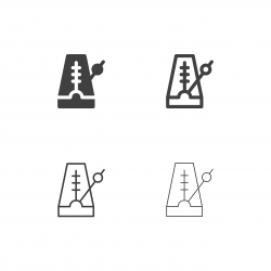 Metronome Icons - Multi Series