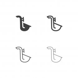 Saxophone Icons - Multi Series