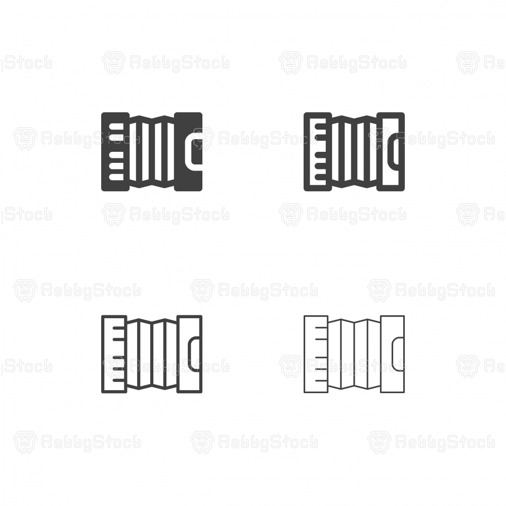 Accordion Icons - Multi Series