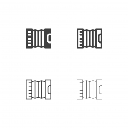 Accordion Icons - Multi Series