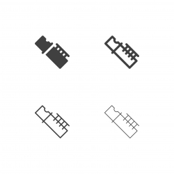 Flute Icons - Multi Series