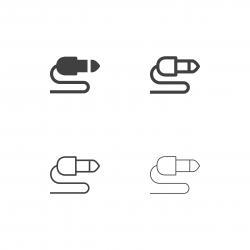 Music Connector Icons - Multi Series