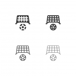 Soccer Goal Icons - Multi Series