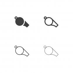 Whistle Icons - Multi Series
