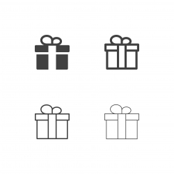 Giftbox Icons - Multi Series