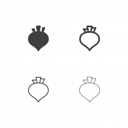 Beetroot Icons - Multi Series