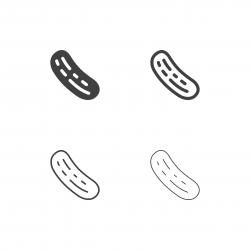 Cucumber Icons - Multi Series
