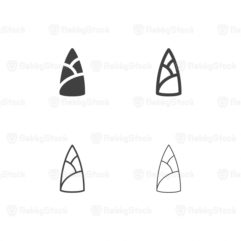 Bamboo Shoot Icons - Multi Series