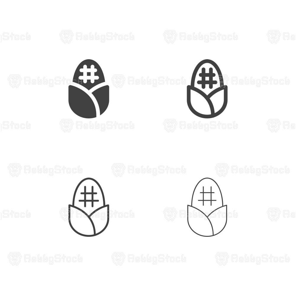 Corn Icons - Multi Series