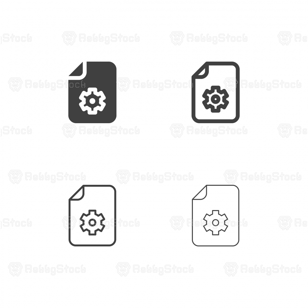 Configuration File Icons - Multi Series