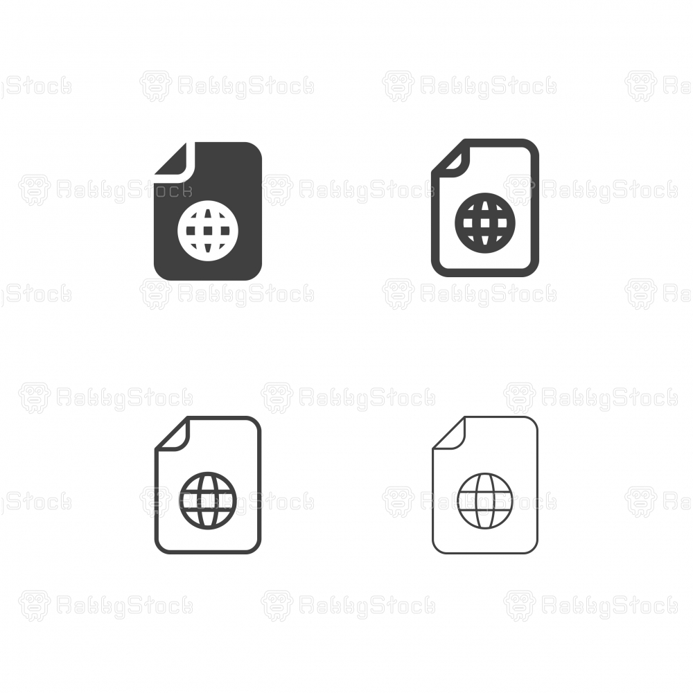 Global File System Icons - Multi Series
