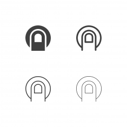 Finger Scan Icons - Multi Series