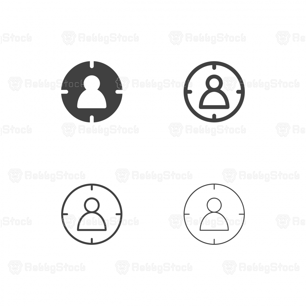 Target Audience Icons - Multi Series