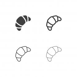 Croissant Icons - Multi Series