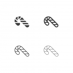 Candy Cane Icons - Multi Series