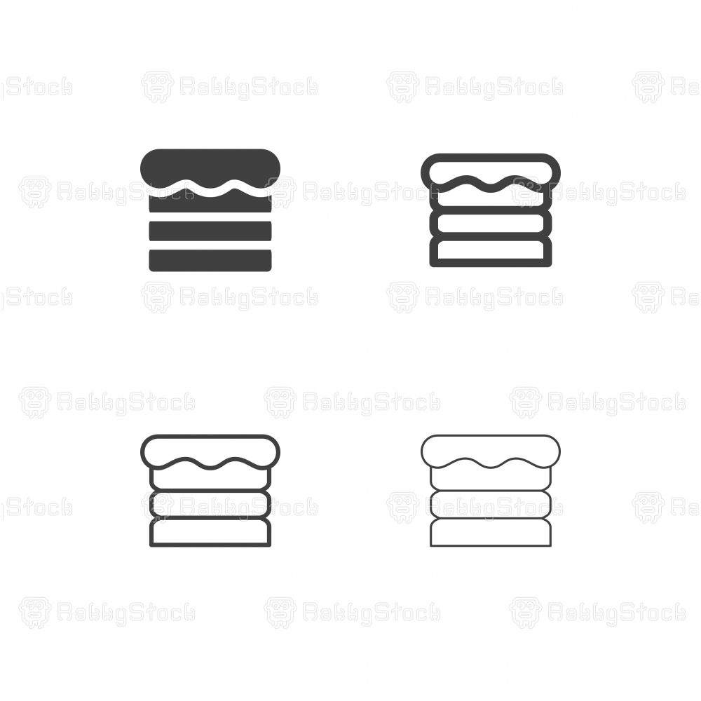 Cream Cake Icons - Multi Series