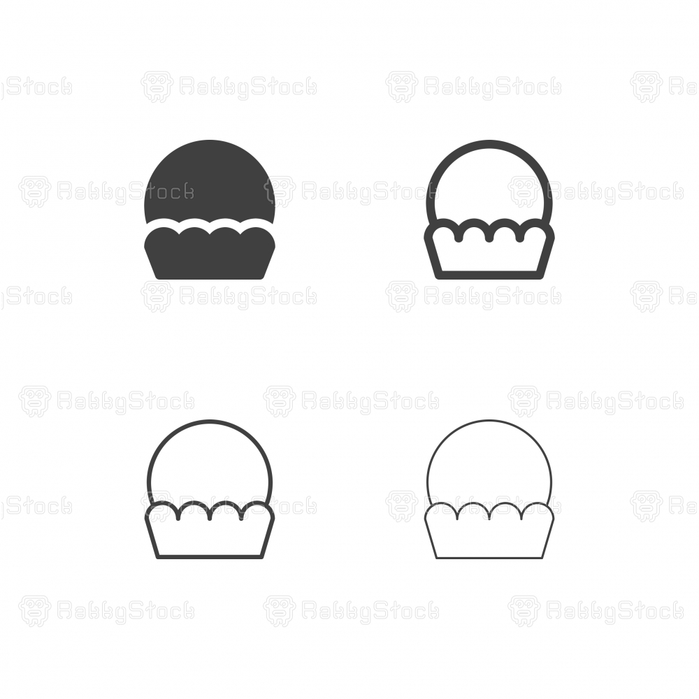 Cupcake Icons - Multi Series