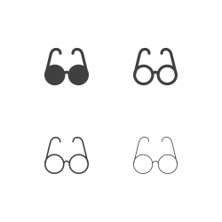 Eyeglasses Icons - Multi Series