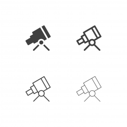 Telescope Icons - Multi Series