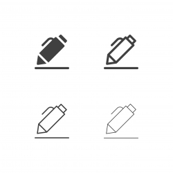 Pen Icons - Multi Series