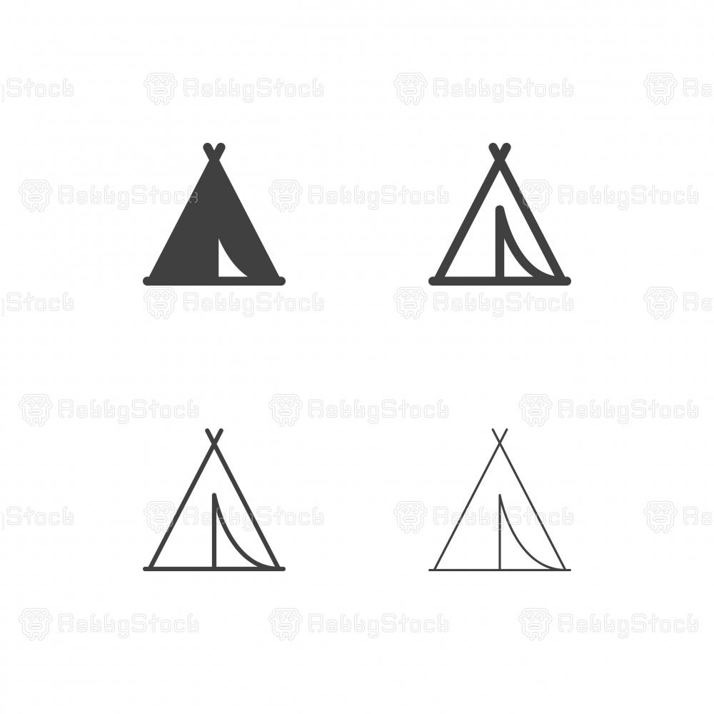 Tent Icons - Multi Series