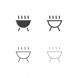 Picnic Barbecue Icons - Multi Series