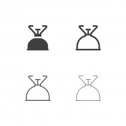 Camping Stove Icons - Multi Series
