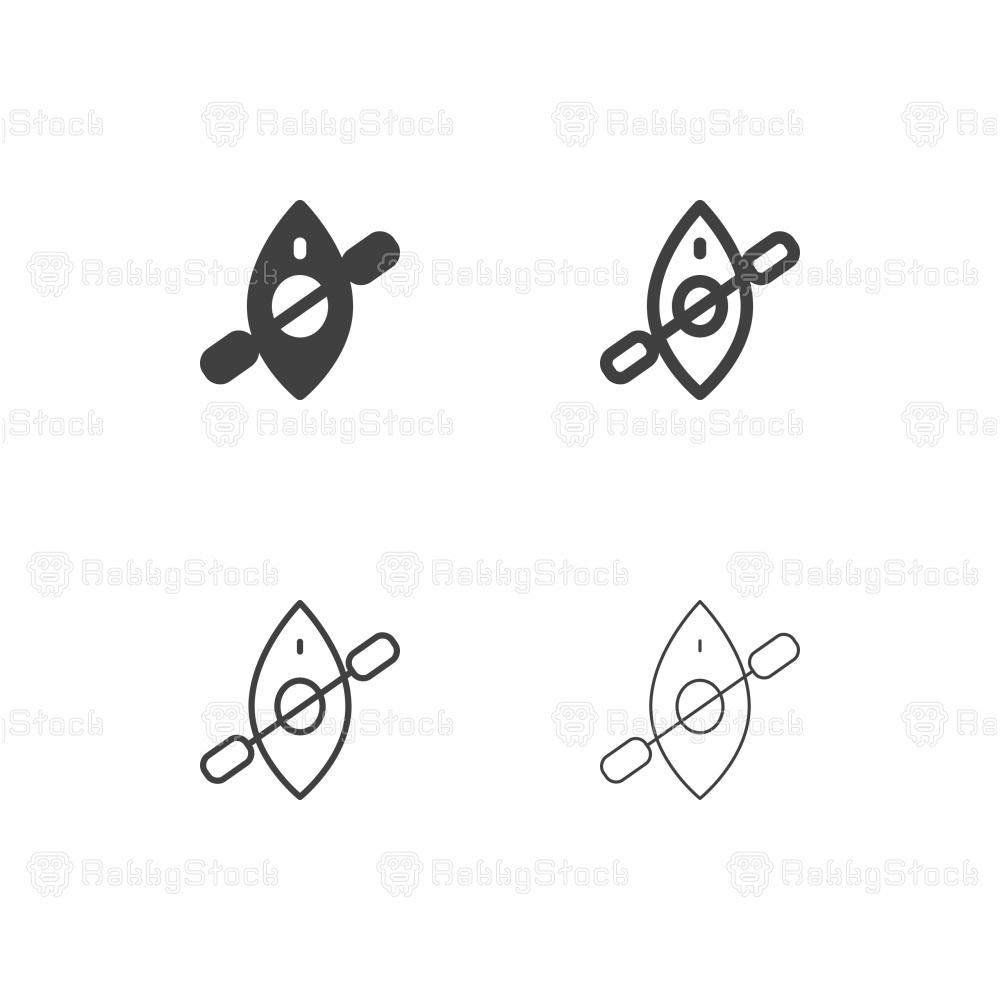 Canoe Icons - Multi Series
