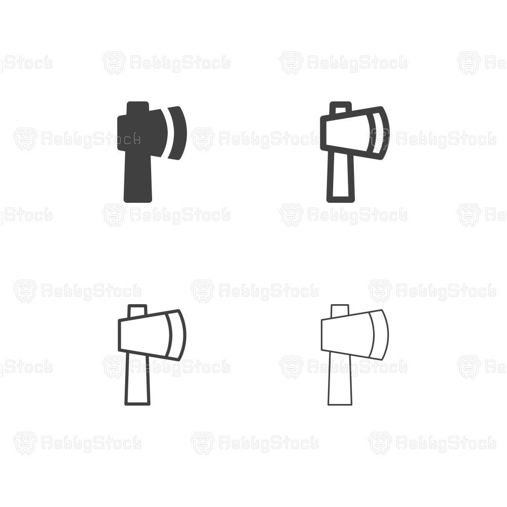 Axe Icons - Multi Series