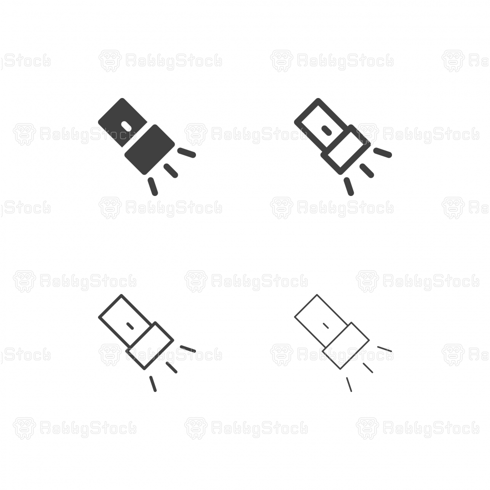Flashlight Icons - Multi Series