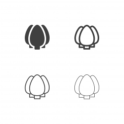Tree Icons - Multi Series