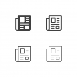 Newspaper Icons - Multi Series