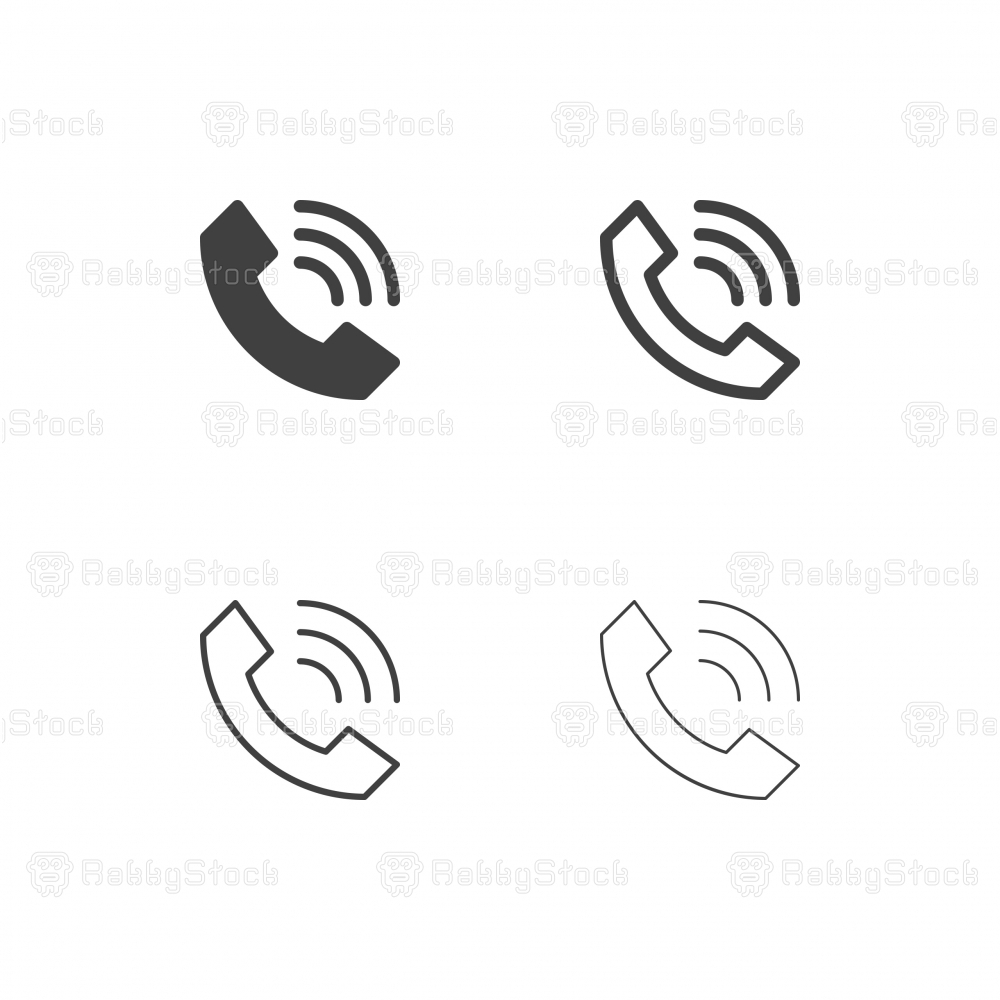 Internet Phone Icons - Multi Series
