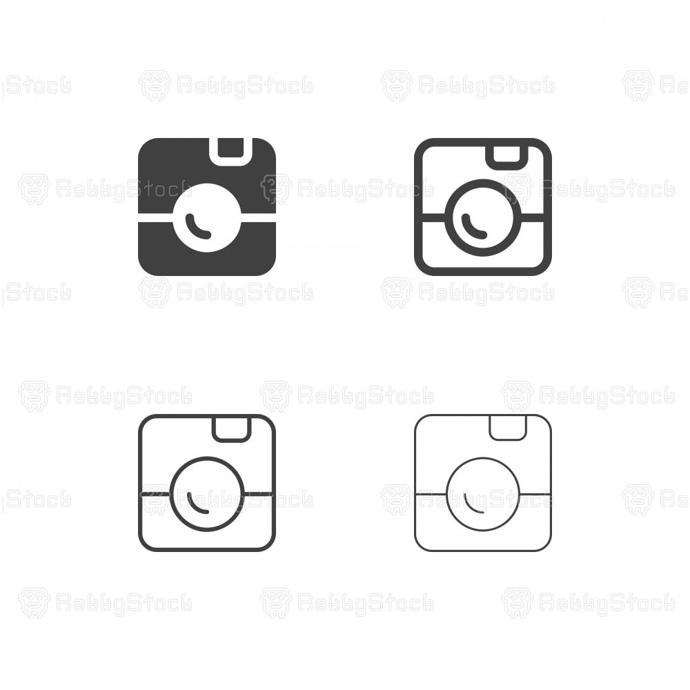 Instant Camera Icons - Multi Series