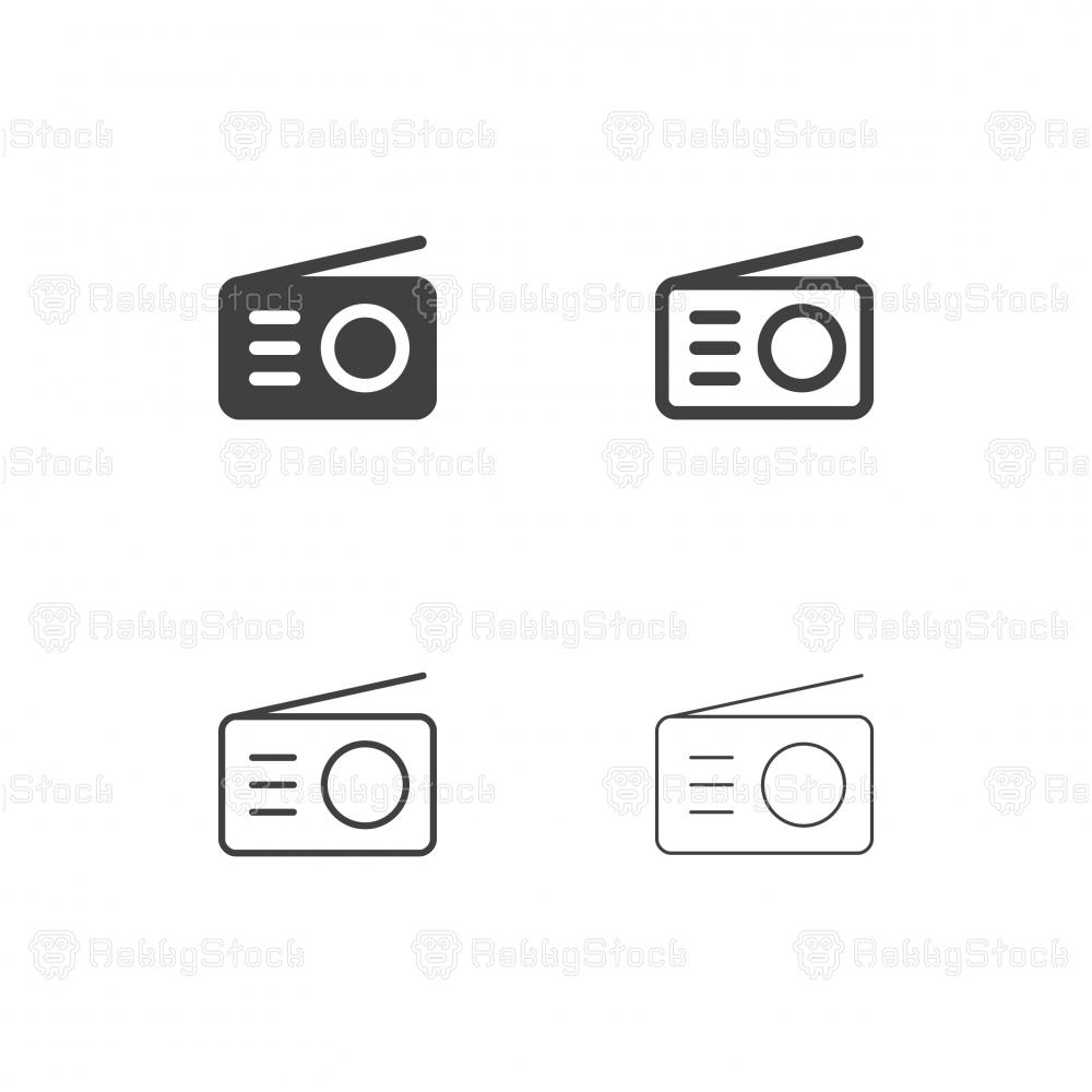 Radio Icons - Multi Series