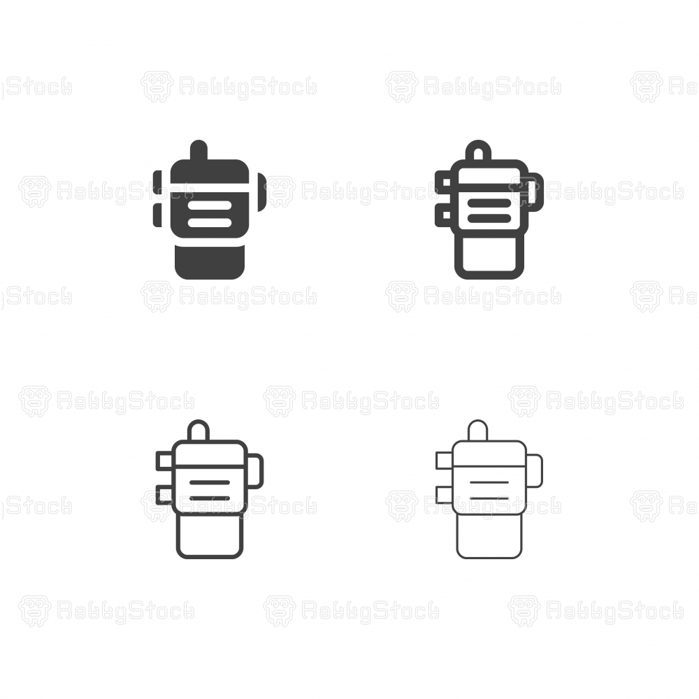 Walkie Talkie Icons - Multi Series