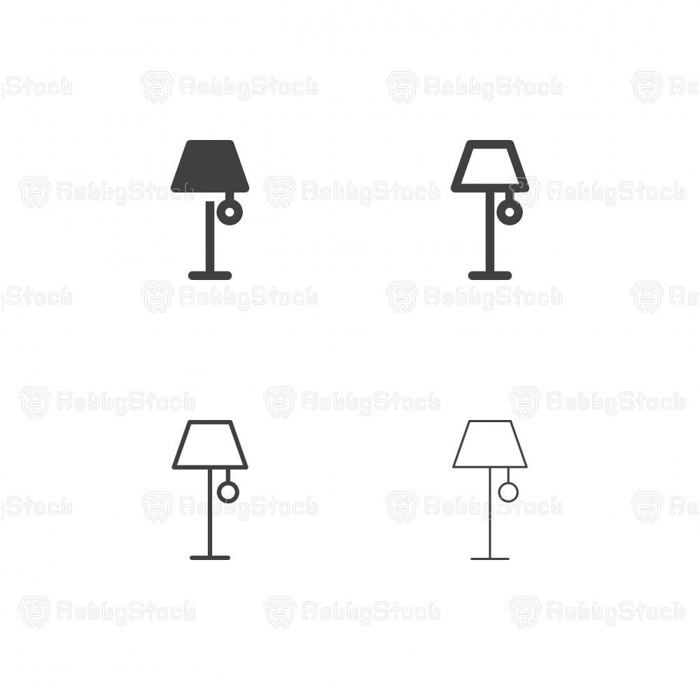 Floor Lamp Icons - Multi Series