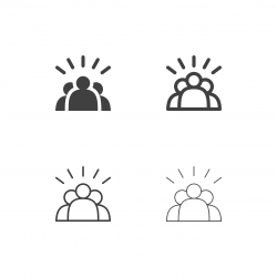 Team Work Icons - Multi Series