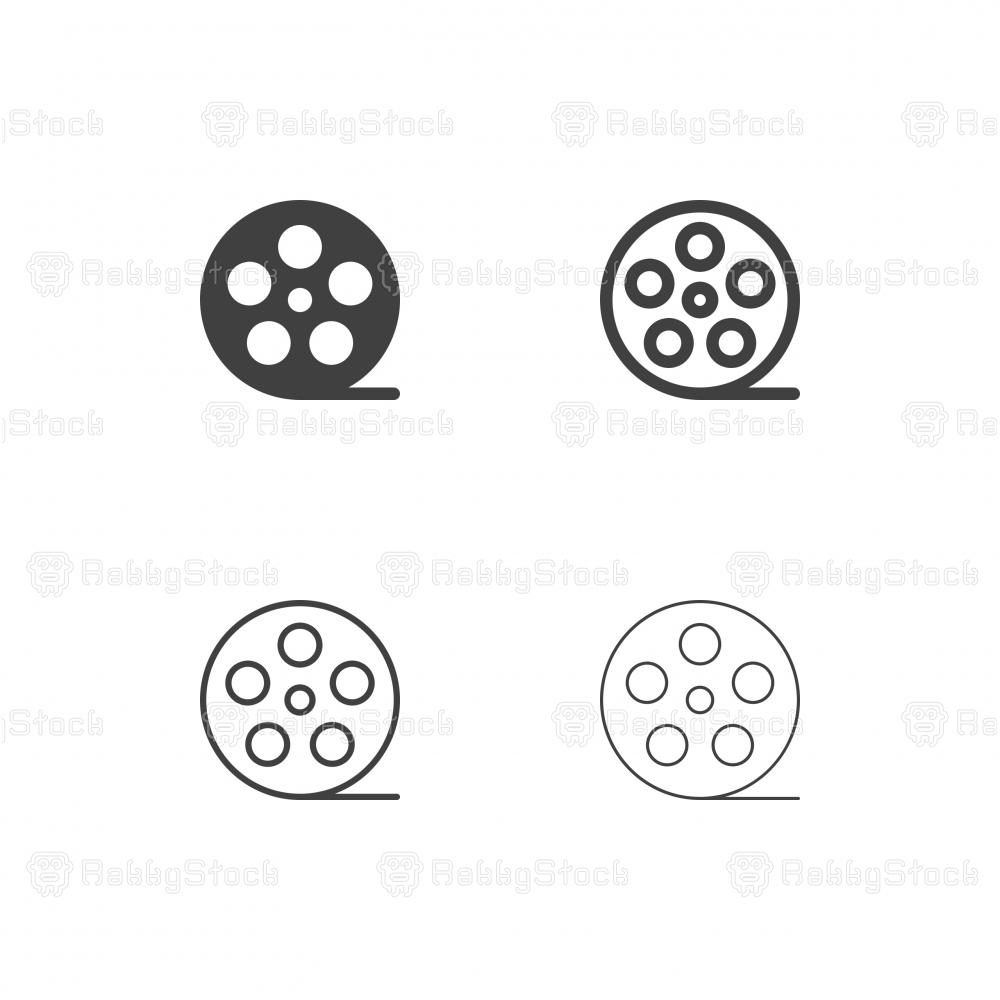 Film Roll Icons - Multi Series