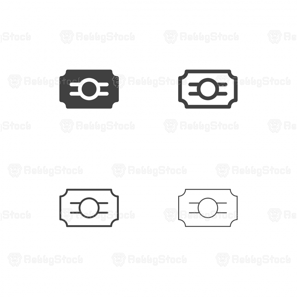 Ticket Icons - Multi Series